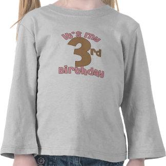 It's My Third Birthday T Shirts