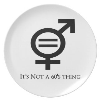 It's Not a 60s Thing Plate
