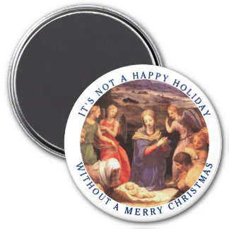 It's Not a Happy Holiday without a Merry Christmas Magnets