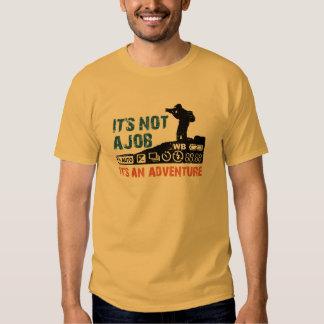 it's not a job it's an adventure shirt