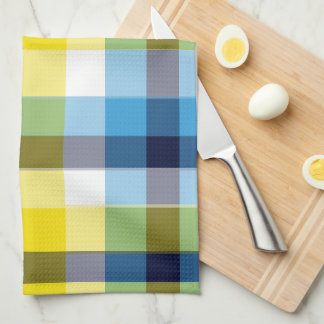 It's Not a Picnic Until It Rain Plaid Dishtowel Tea Towel