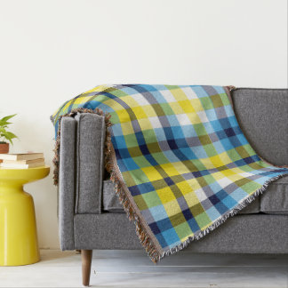 It's Not a Picnic Without Rain Plaid Throw