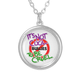 It's Not Cool Silver Plated Pendant