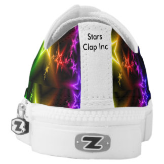 Its Not Cool Stars Zipz Low Top Shoes, Printed Shoes