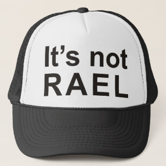 It's not rael trucker hat