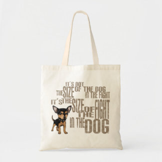 It's Not The Size Budget Tote Bag