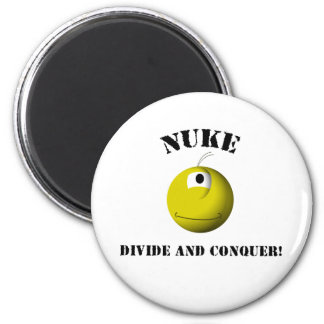 It's Nuke! 6 Cm Round Magnet