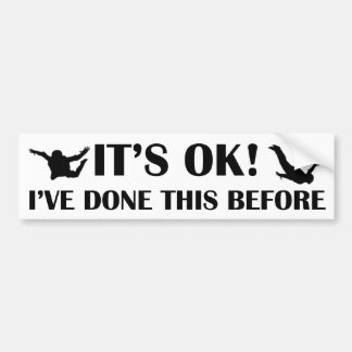 IT'S OK! BUMPER STICKER