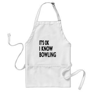 It's OK I Know Bowling Dance Aprons