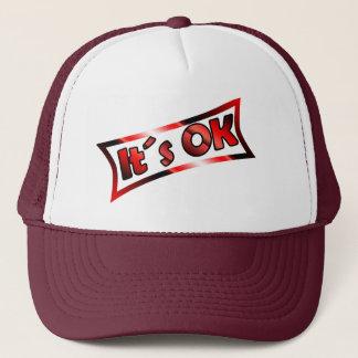 its ok trucker hat
