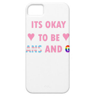 It's Okay To Be Trans And Gay (v1) iPhone 5 Cases