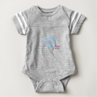 It's Okay To Be Trans And Gay (v3) Baby Bodysuit