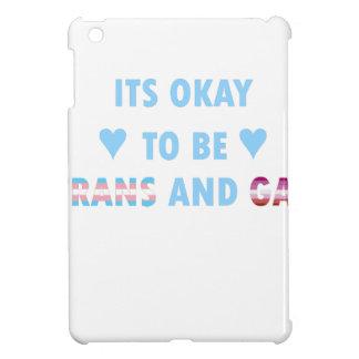 It's Okay To Be Trans And Gay (v3) iPad Mini Case