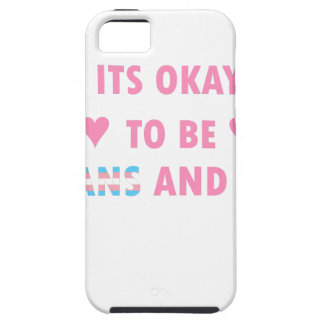 It's Okay To Be Trans And Gay (v4) iPhone 5 Cases