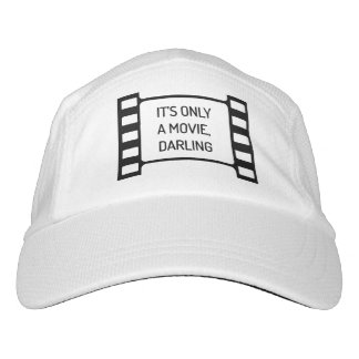 It's only a Movie, Darling. Black and White Film Hat