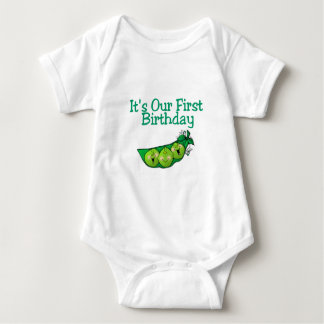 It's Our First Birthday (2) Baby Bodysuit