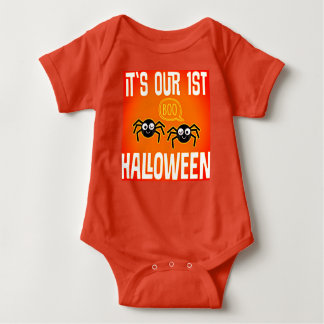 Its Our First Halloween Baby Bodysuit