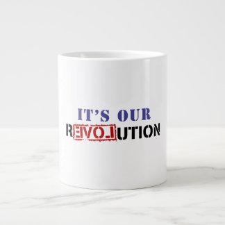 It's Our rEVOLution Jumbo Mug