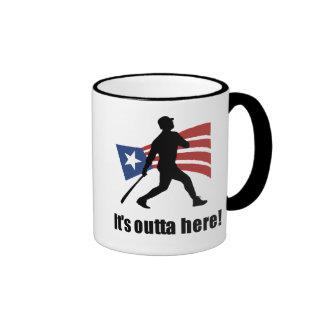It's Outta Here Baseball Coffee Mug