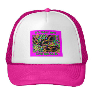 IT'S PARTY TIME NEW ORLEANS CAP