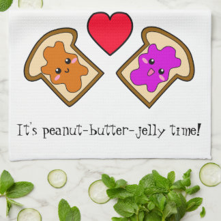 It's Peanut-Butter-Jelly Time! Hand Towels