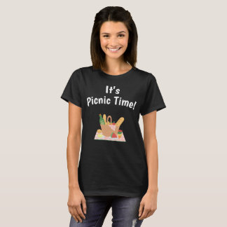 It's Picnic Time Spring Summertime Feast T-Shirt
