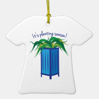 Its Planting Season Christmas Tree Ornaments