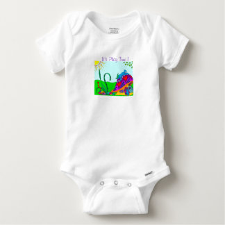 It's Play Time ! Baby Onesie
