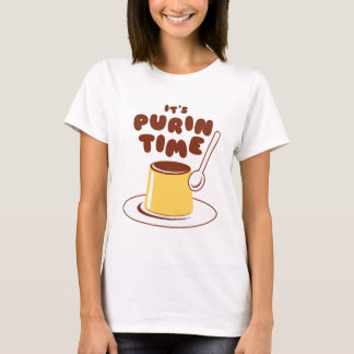 It's Purin Time (Brown) Shirt
