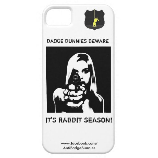 It's Rabbit Season iPhone 5 Case