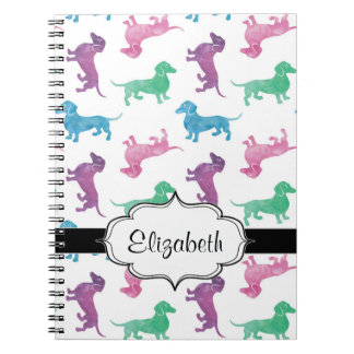 It's Raining Dachshunds Notebook