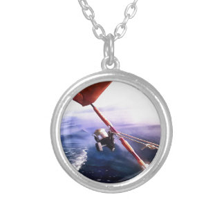 It's Reel - Gone Fishing Silver Plated Necklace