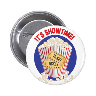Its Showtime 6 Cm Round Badge