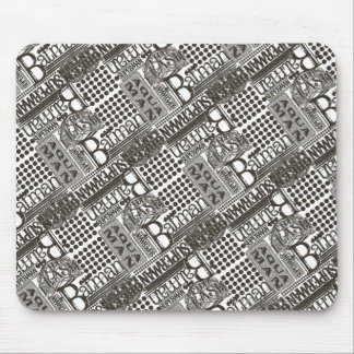It's Showtime Pattern Mouse Pad