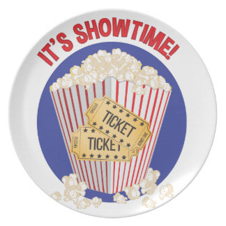 Its Showtime Plate