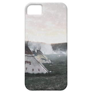 It's snowing on the camp barely there iPhone 5 case