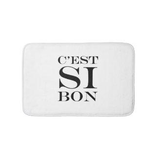 It's So Good - C'est Si Bon French Bath Mat