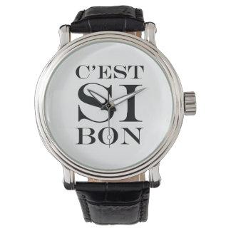 It's So Good - C'est Si Bon French Watch