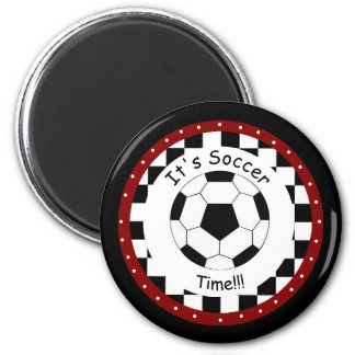 It's Soccer Time!  Magnet