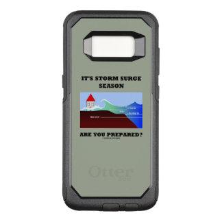It's Storm Surge Season Are You Prepared? OtterBox Commuter Samsung Galaxy S8 Case