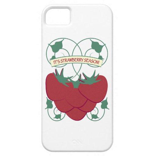 It's Strawberry Season! iPhone 5 Covers