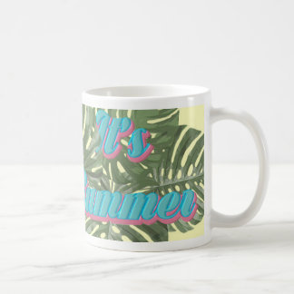 it's summer coffee mug