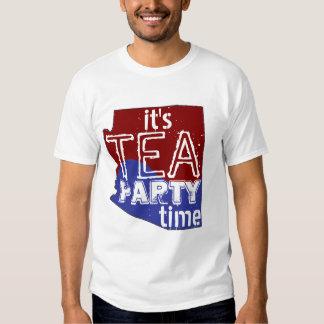 It's Tea Party Time Arizona Shirt