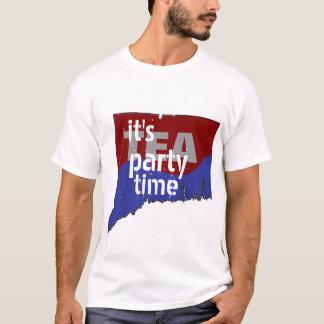 It's Tea Party Time Connecticut T-Shirt