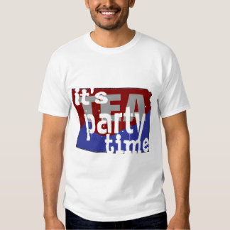 It's Tea Party Time Kansas Shirt