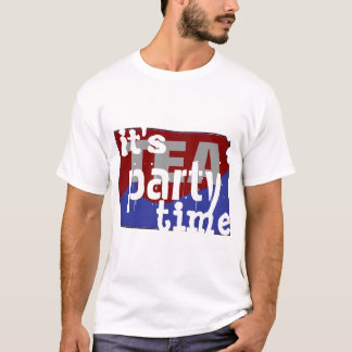 It's Tea Party Time Kansas T-Shirt