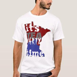 It's Tea Party Time Minnesota T-Shirt