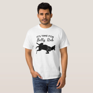 It's Team Will be Belly Rub T-shirt