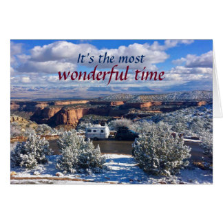 It's the most wonderful time card