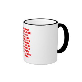 It's the most wonderful time of the year.With t... Coffee Mug